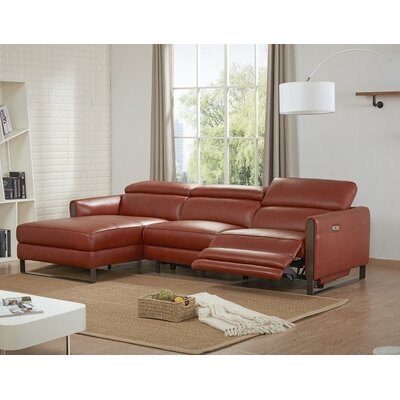 Kress Premium Reclining Sectional Orientation: Left Hand Facing