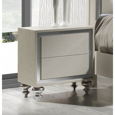 Ostende 2 Drawer Nightstand