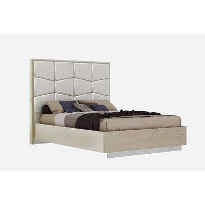 Kersh Upholstered Platform Bed Size: Queen