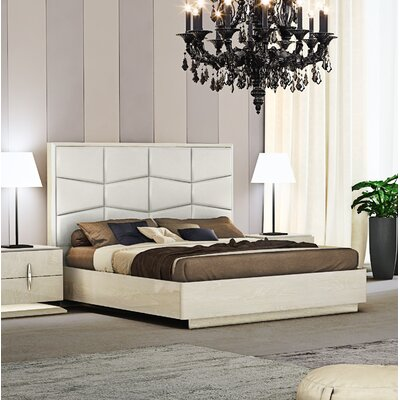 Kersh Upholstered Platform Bed Size: King
