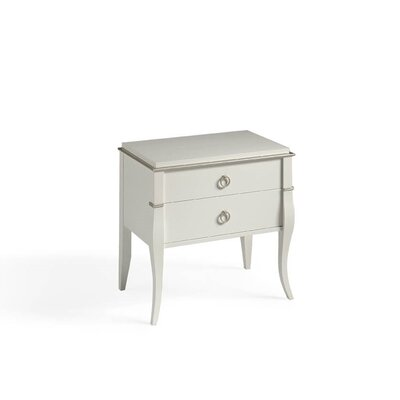 Ossett 2 Drawer Nightstand
