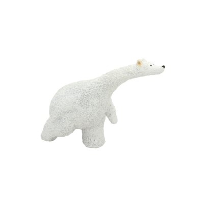 Forward Running Polar Bear Figurine FR3513 CREAM