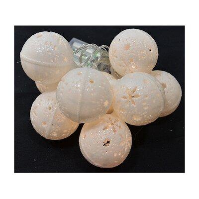 """Fantastic Craft 60"""" Snowflake Ball Garland"""