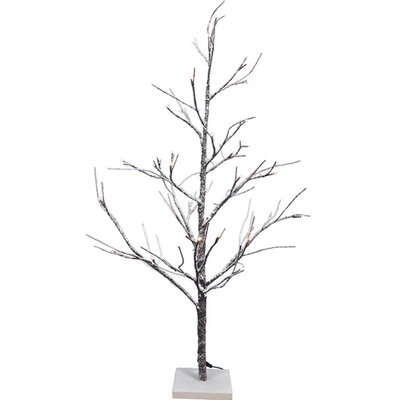 3' Snow Twig Artificial Christmas Tree with LED Lights
