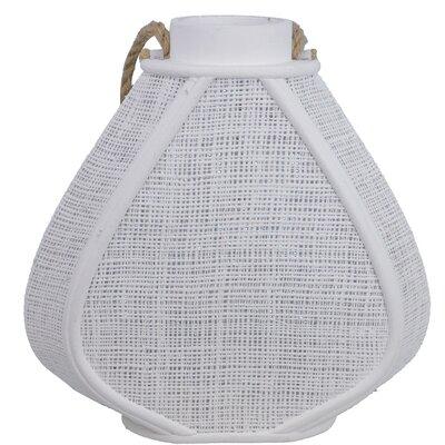 Decorative Heart Lantern Color: Cream