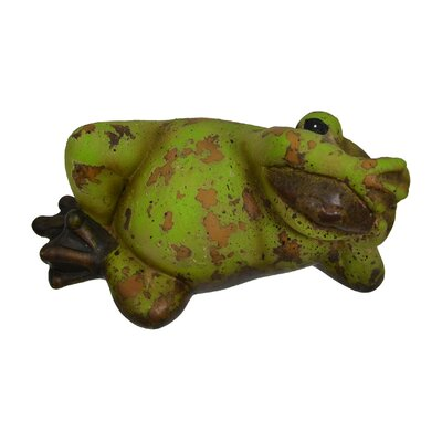 See-No-Evil Frog Figurine