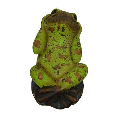 Hear-No-Evil Frog Figurine