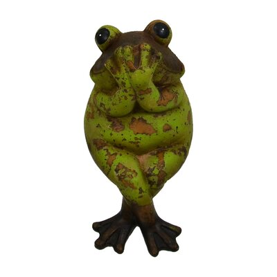 Speak-O-Evil Frog Figurine