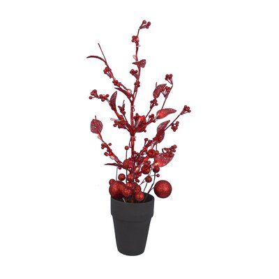 Holiday Ball Floor Plant in Pot