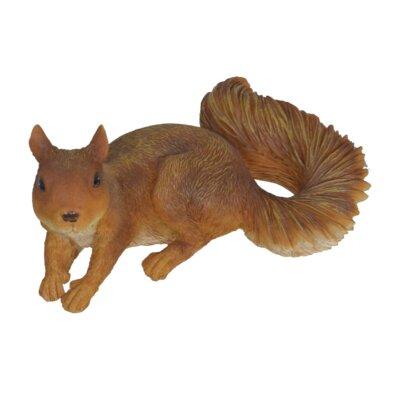 Lying Squirrel Figurine FR2140 BROWN