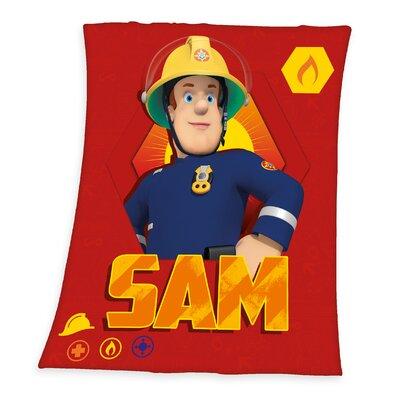 Fleece-Decke Feuerwehrmann Sam   Heimtextilien > Decken und Kissen > Mehr-Decken   Red   Herding Heimtextil