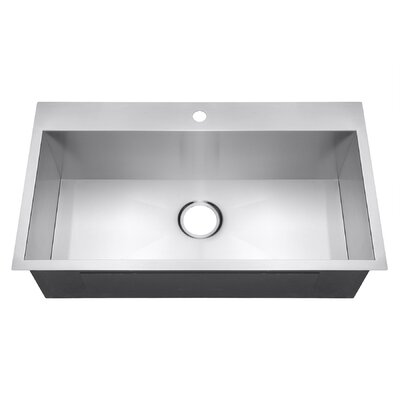 18 x 32 Single Bowl Kitchen Sink