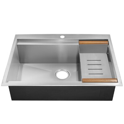 30 x 22 Drop-In Kitchen Sink