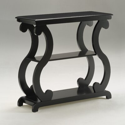 Lucy Console Table Finish: Black
