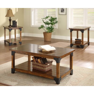 William 3 Piece Coffee Table Set