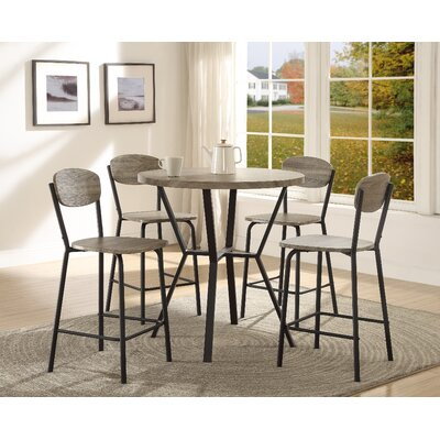 Blake 5 Piece Counter Height Dining Set