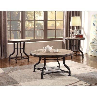 Kenneth 3 Piece Coffee Table Set