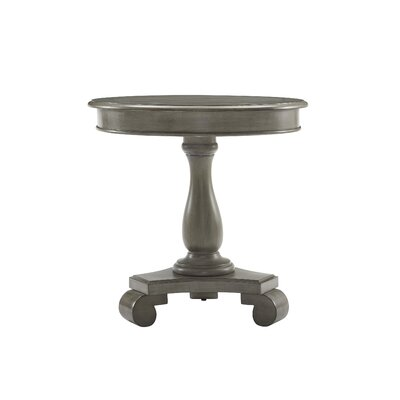 Constance Round End Table Color: Gray