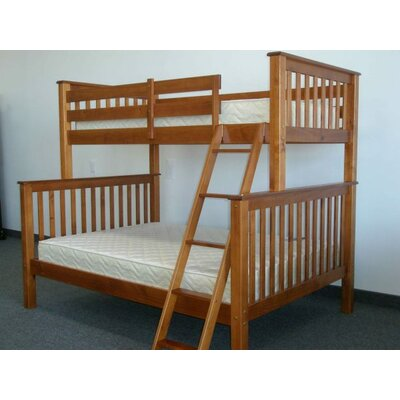 Mission Twin over Full Bunk Bed Finish: Espresso