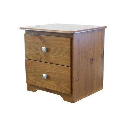 2 Drawer Nightstand Finish: Espresso