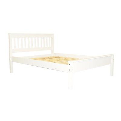 Mission Full Slat Bed Color: White