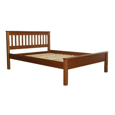 Mission Full Slat Bed Color: Espresso
