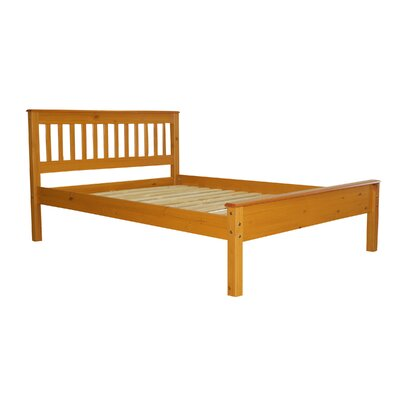Mission Full Slat Bed Color: Honey