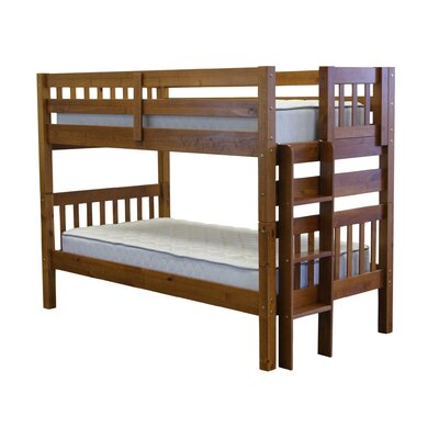 Mission Twin over Twin Bunk Bed Finish: Espresso
