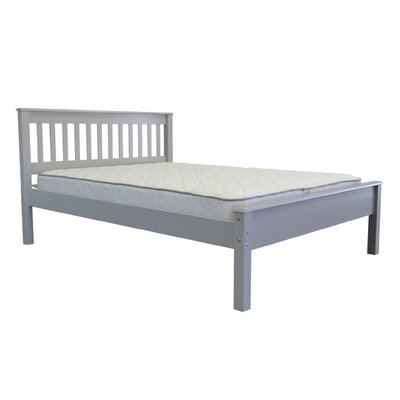 Mission Full Slat Bed Color: Gray