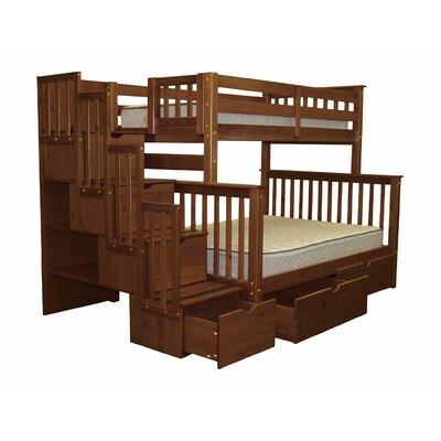 Stairway Storage Drawer Bunk Bed
