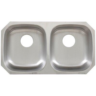 32.7 x 18.25 Undermount Kitchen Sink