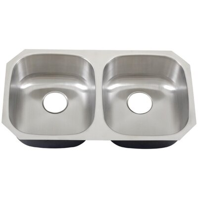 32.7 x 18.25 Undermount Kitchen Sink