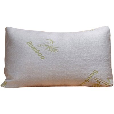 Rayon from Bamboo Memory Foam Pillow Size: Queen