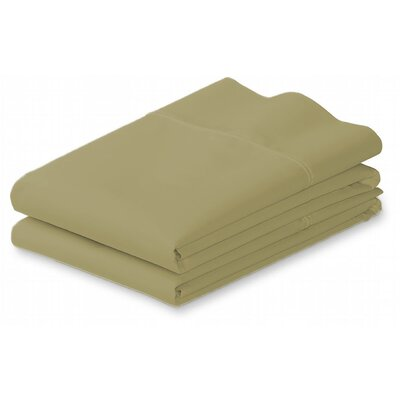 Roscoe Premium Double-Brushed Pillow Case Color: Sage, Size: King