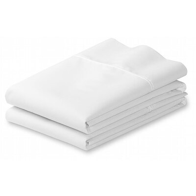 Grange Premium Double-Brushed Pillow Case Size: Standard, Color: White