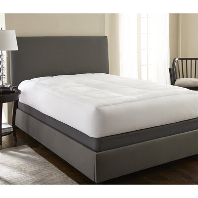 Becky Cameron 1.5 Down Alternative Mattress Pad Size: King