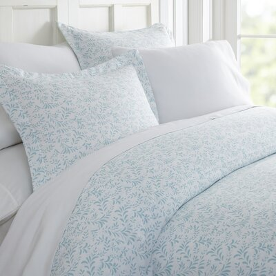 Kaminsky Duvet Set Size: Queen, Color: Light Blue