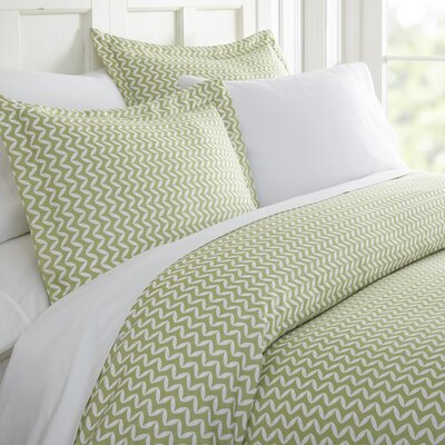 Elnora Duvet Set Size: Queen, Color: Sage