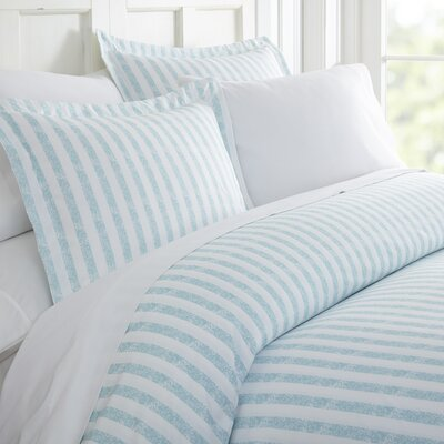 Sylvestor Duvet Set Size: Twin, Color: Light Blue