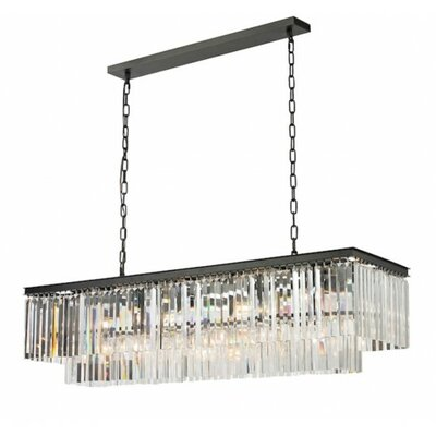 1920 12-Light Kitchen Island Pendant