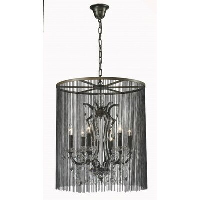 Vallie 6-Light Crystal Chandelier