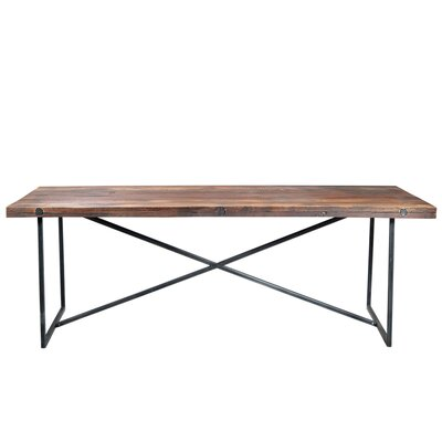 Dining Table Frame Finish: Black