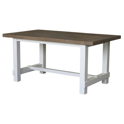 Country Dining Table Finish: White / Grey