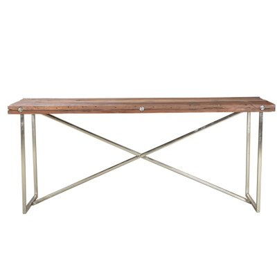 Console Table Base Finish: Nickel