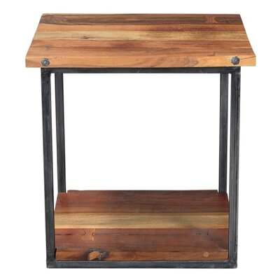 End Table Frame Color: Black