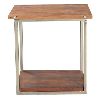 End Table Frame Color: Nickel