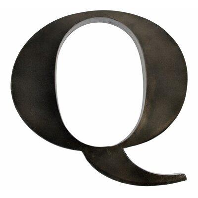 Metal Letter Blocks Letter: Q