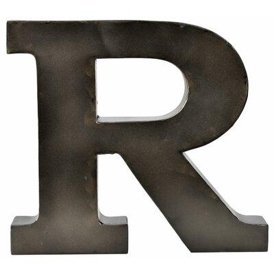 Metal Letter Blocks Letter: R