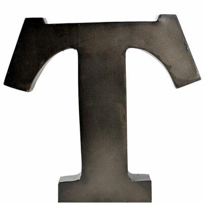 Metal Letter Blocks Letter: T