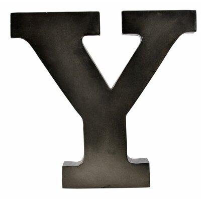 Metal Letter Blocks Letter: Y